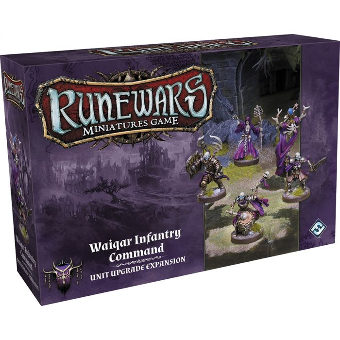Fantasy Flight Runewars: Waiqar Infantry Command