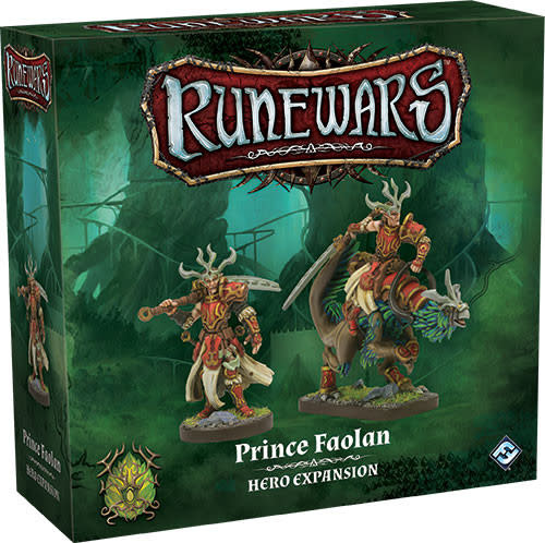 Fantasy Flight Runewars: Prince Faolan Hero