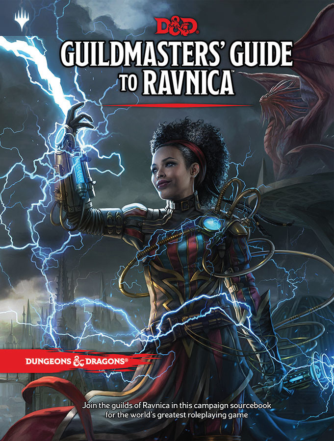 Wizards of the Coast D&D RPG Book: Guildmasters' Guide to Ravnica