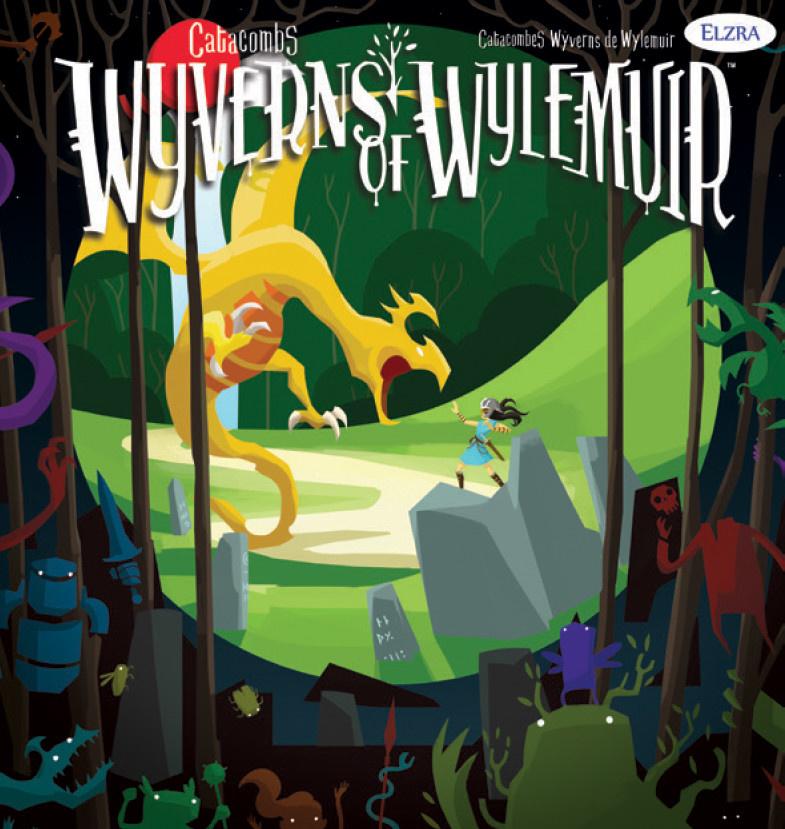 Elzra Catacombs: Wyverns of Wylemuir