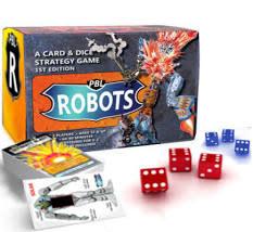 Hidden ladder games PBL Robots