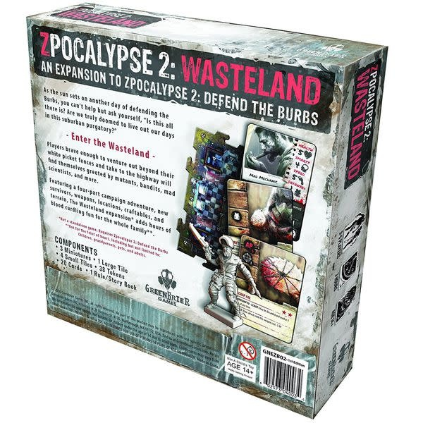 Greenbrier games Zpocalypse 2 Wasteland