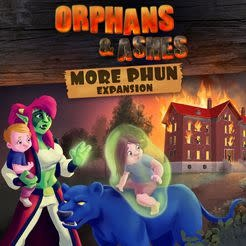 Blind ferret Orphans & Ashes: More Phun