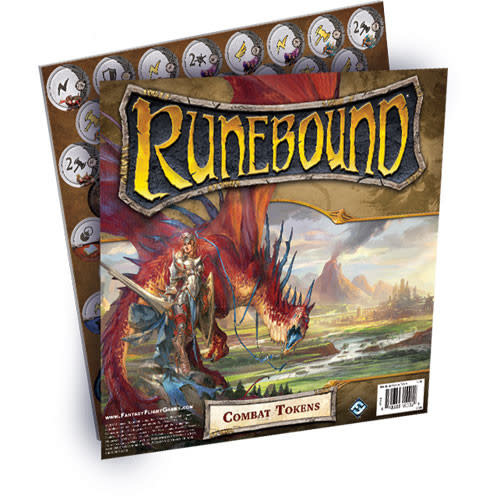 Fantasy Flight RUNEBOUND: Combat Tokens
