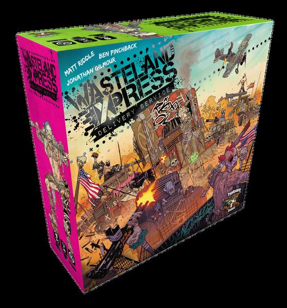 Pandasaurus Games Wasteland Express Delivery Service