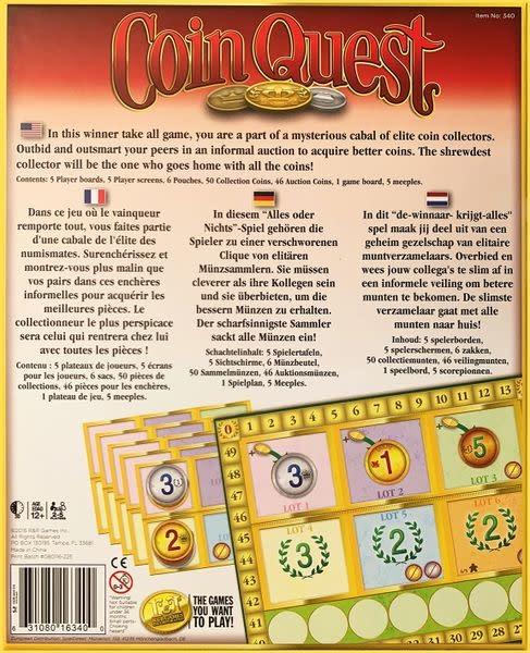 R & R Games Coin Quest