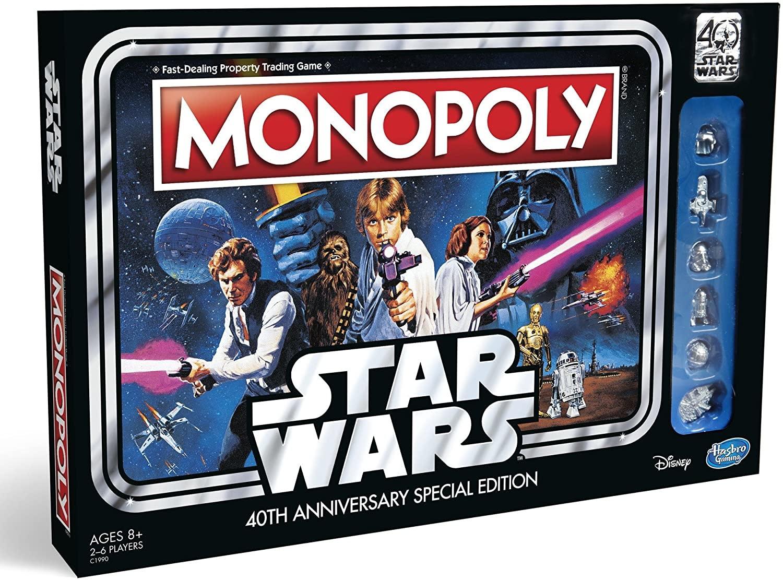 Hasboro Monopoly Star Wars 40th Anniversary Special Edition