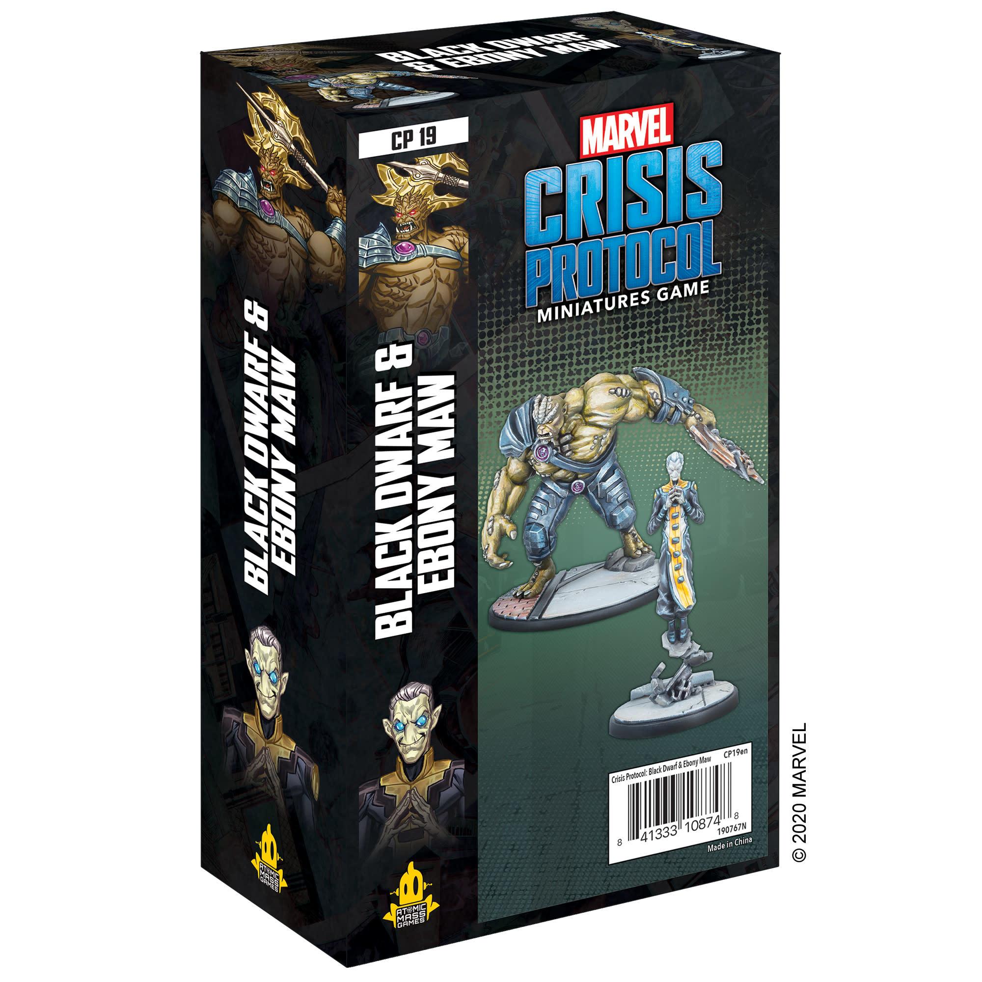 Atomic Mass Games Marvel Crisis Protocol: Black Dwarf & Ebony Maw