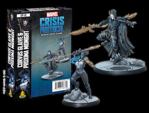 Atomic Mass Games Marvel Crisis Protocol: Corvus Glaive & Proxima