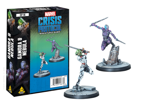 Atomic Mass Games Marvel Crisis Protocol: Gamora & Nebula