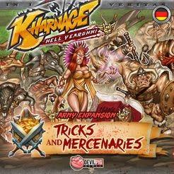 Devil Pig Games Kharnage: Tricks and Mercenaries Expansion