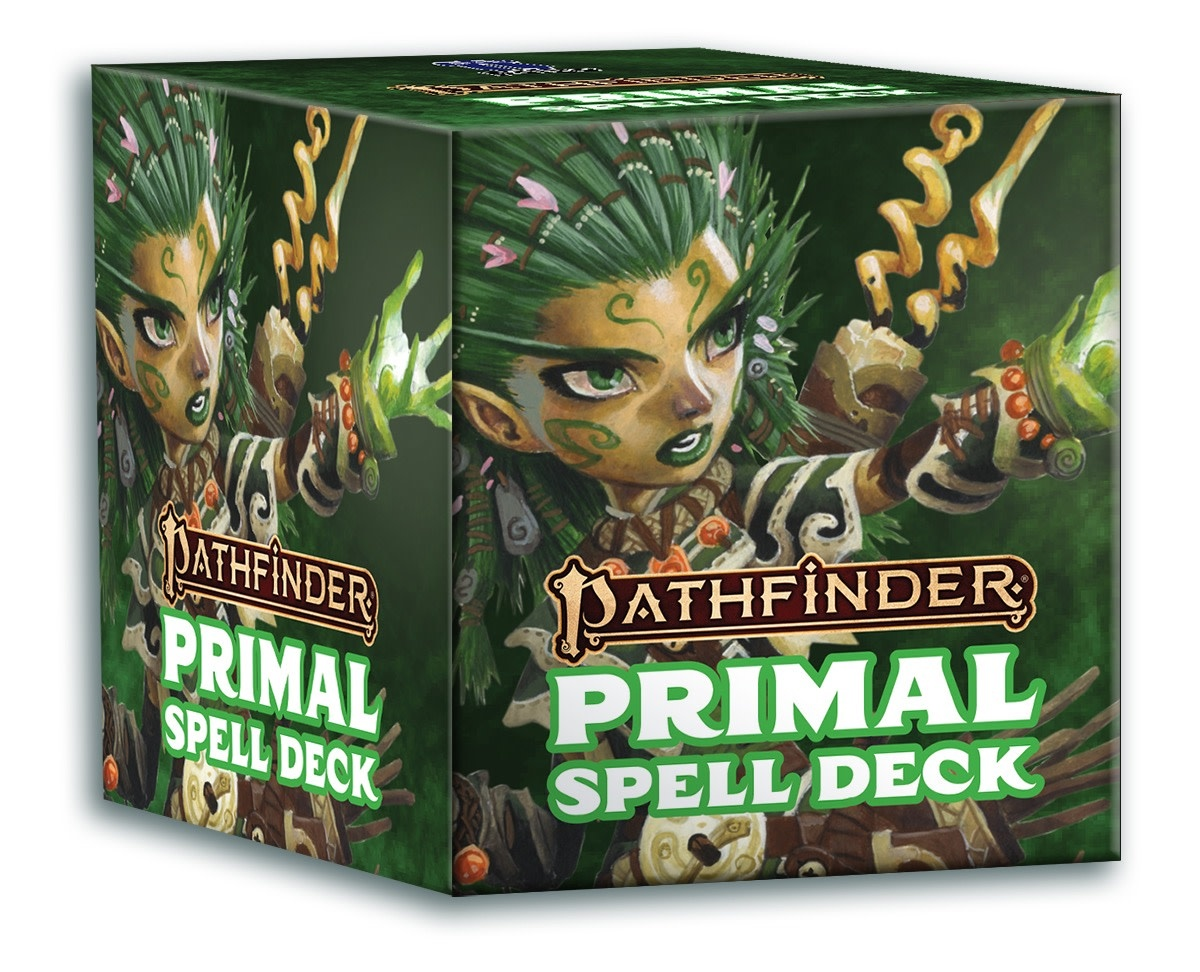 Paizo Pathfinder RPG Spell Cards: Primal