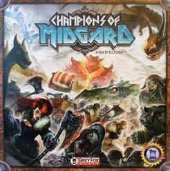 Grey Fox Champions of Midgard