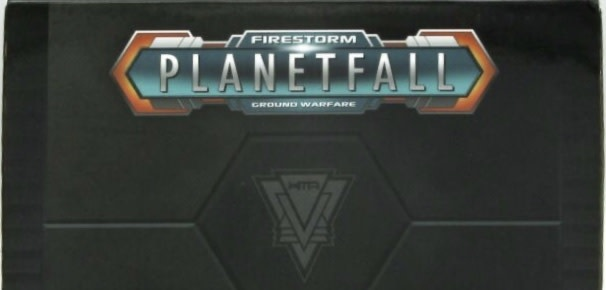 Spartan games Firestorm Planet Fall: Terran Alliance Core Helix