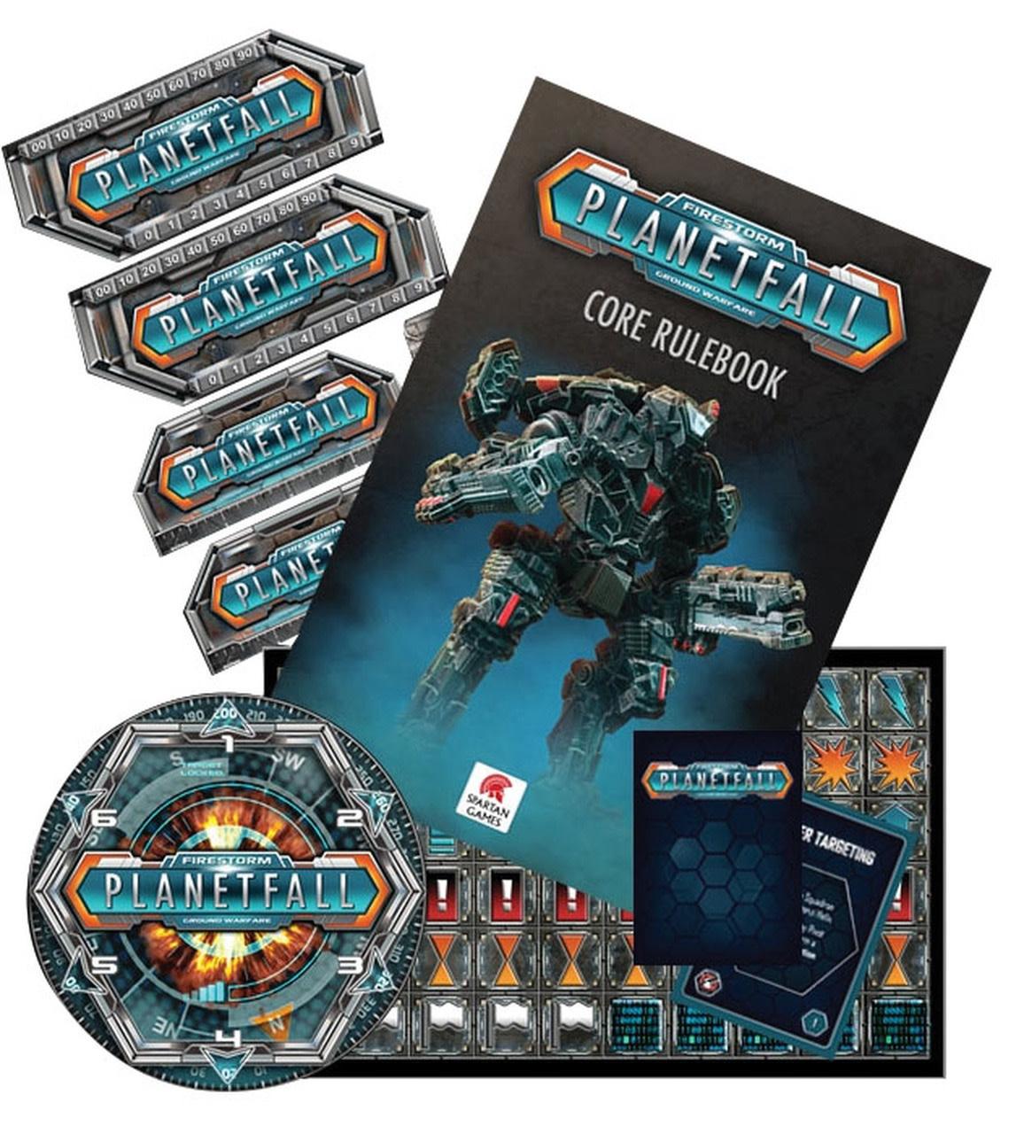 Firestorm Planet Fall: Commander Pack