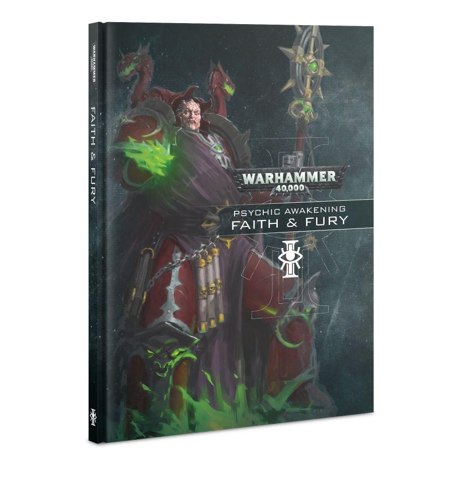 Games Workshop Warhammer 40K: Psychic Awakenings- Faith & Fury Book