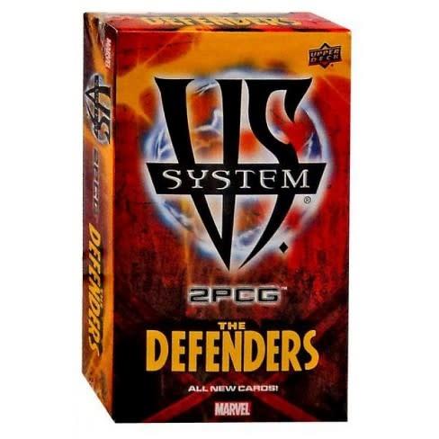 Upper deck Marvel VS System: the defenders