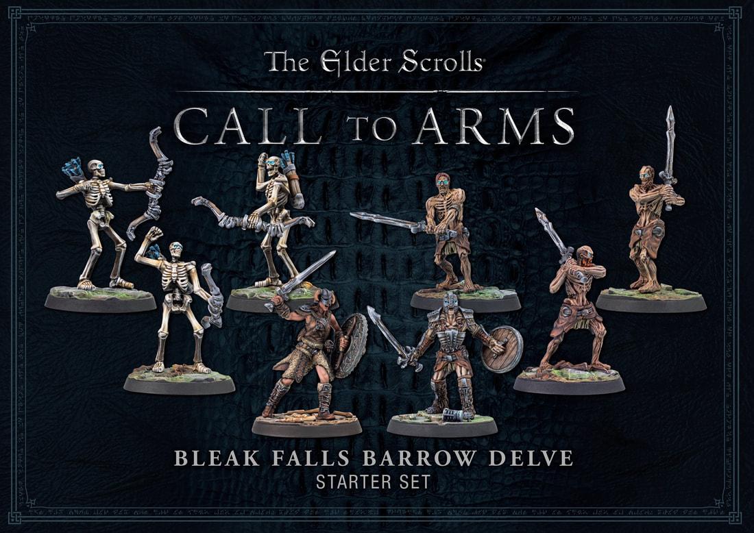 Modiphius Elder Scrolls Call to Arms: Bleak Falls Barrow (plastic)