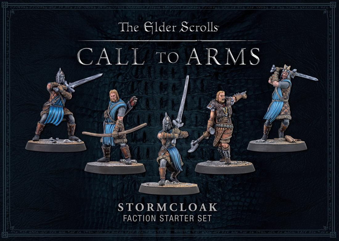 Modiphius Elder Scrolls Call to Arms: Stormcloak Faction (plastic)