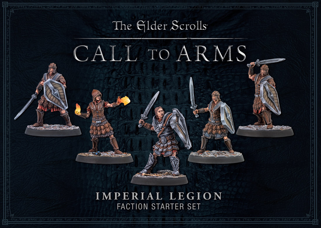 Modiphius Elder Scrolls Call to Arms: Imperial Faction (Plastic)