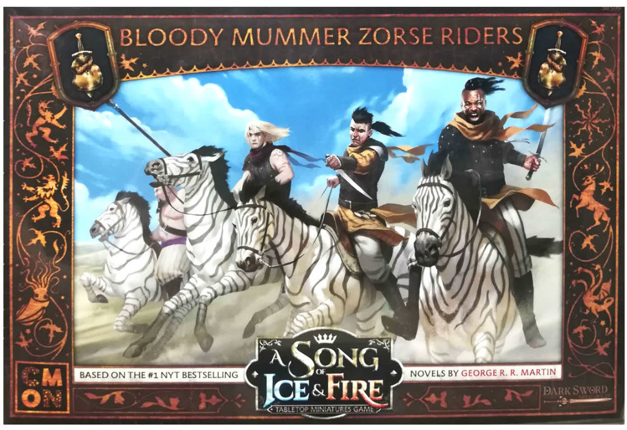 CMON A Song of Ice & Fire: Bloody Mummer Zorse Riders