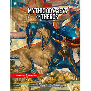 Wizards of the Coast D&D RPG Book: Mythic Odysseys of Theros