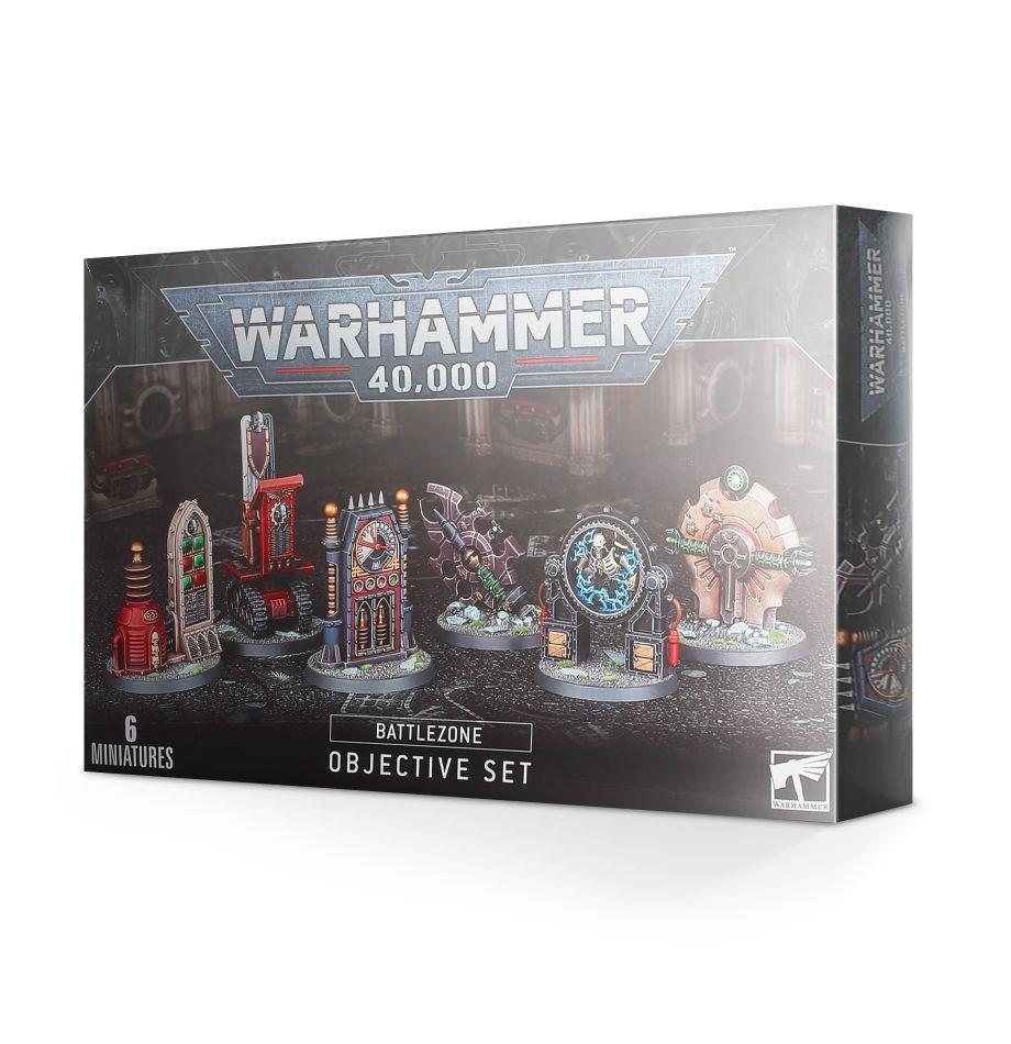 Games Workshop Warhammer 40K Terrain: Battlezone Objective Set