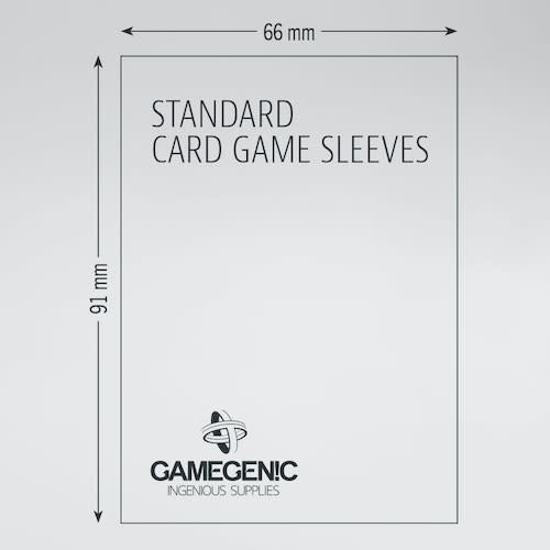 Gamegenic Gamegenic Sleeves: Standard (66x91)