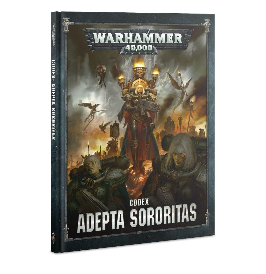 Games Workshop Warhammer 40K Codex: Adepta Sororitas