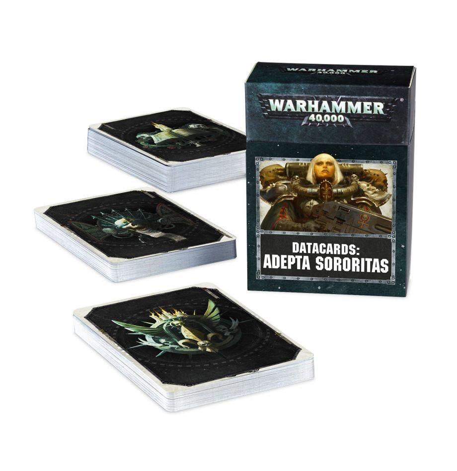 Games Workshop Warhammer 40K Datacards: Adepta Sororitas