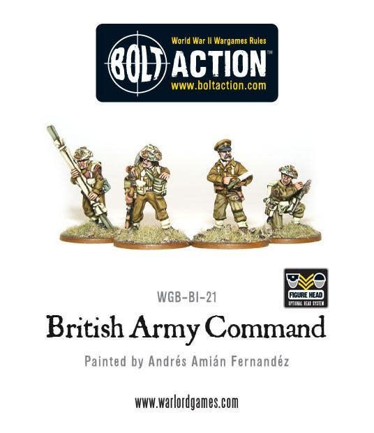 Warlord games Bolt Action: British- Command (4)