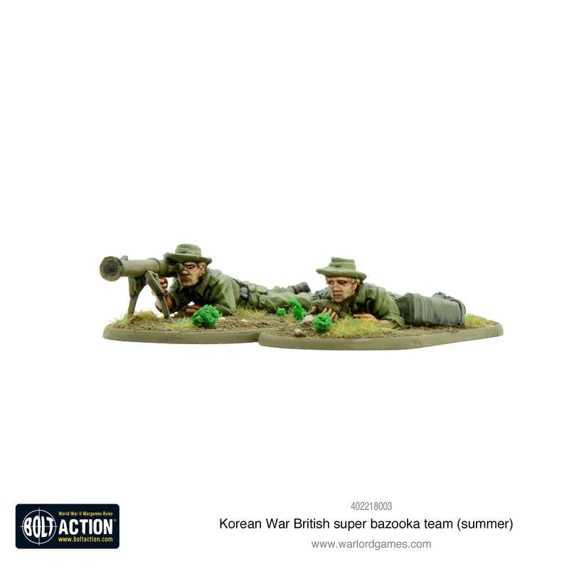 Warlord games Bolt Action: British- Super Bazooka team (summer)