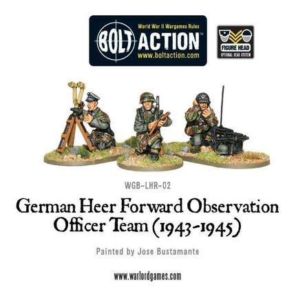 Warlord games Bolt Action: German- Heer FOO Team