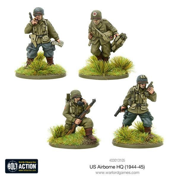 Warlord games Bolt Action: US- Airborne HQ