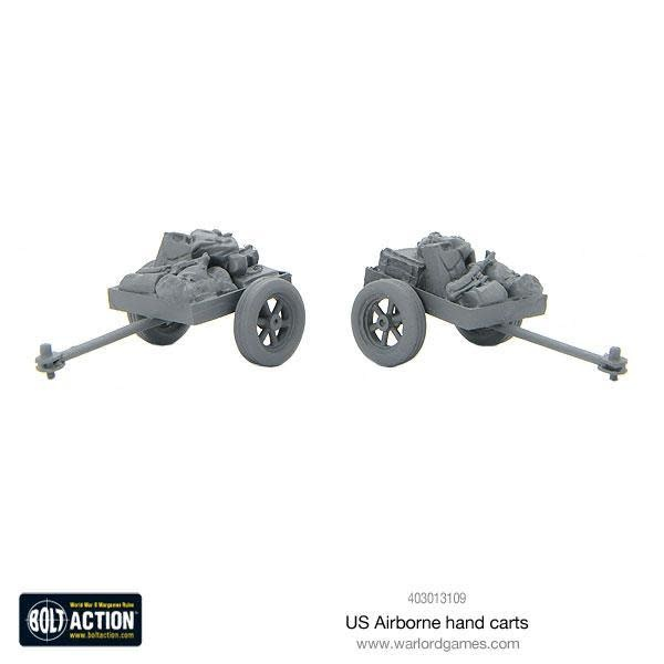 Warlord games Bolt Action: US- Airborne Hand Carts