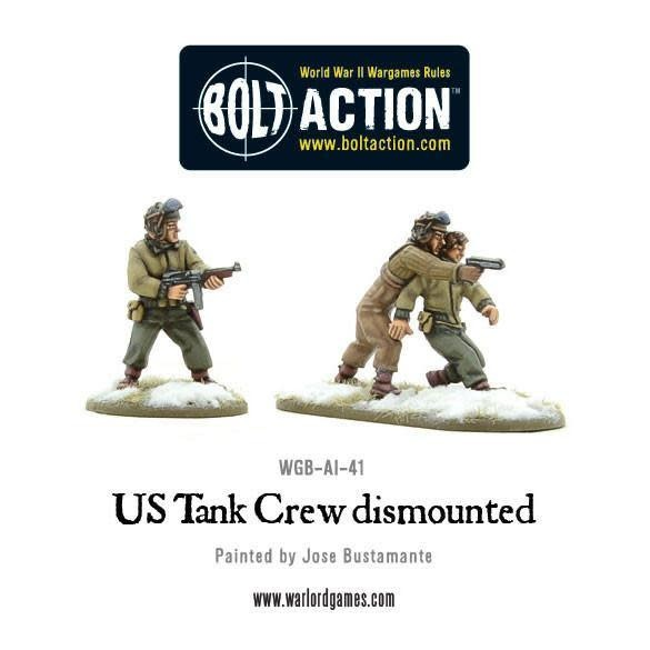Warlord games Bolt Action: US- Tank Crew dismounted
