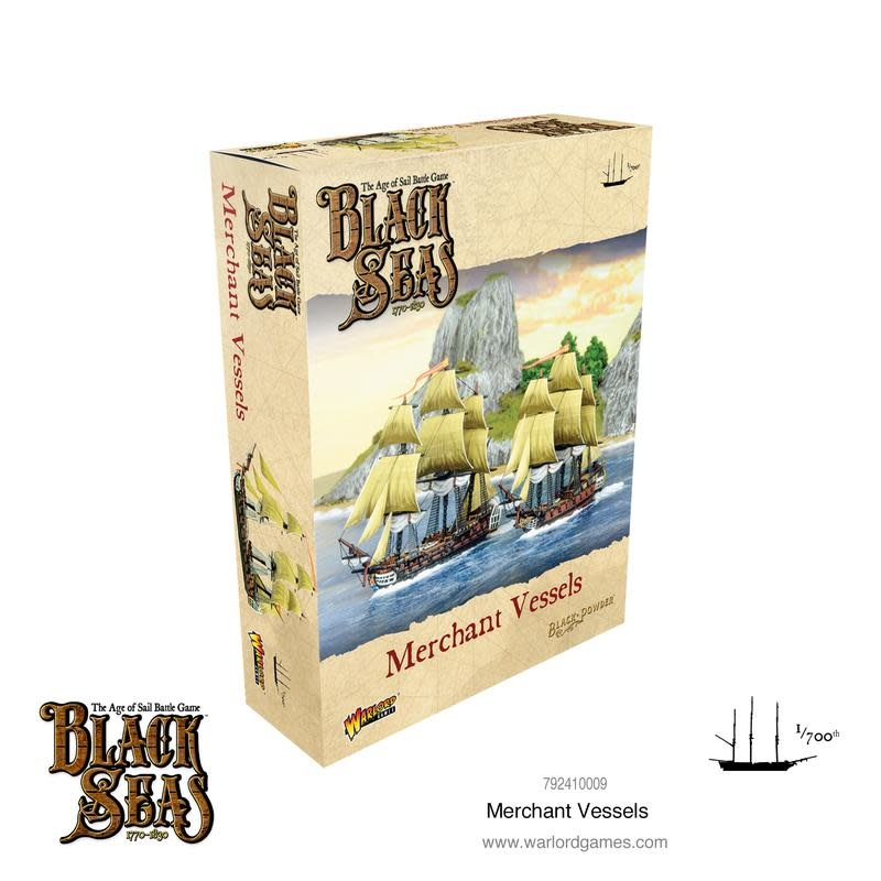 Warlord games Black Seas: Merchant Vessels