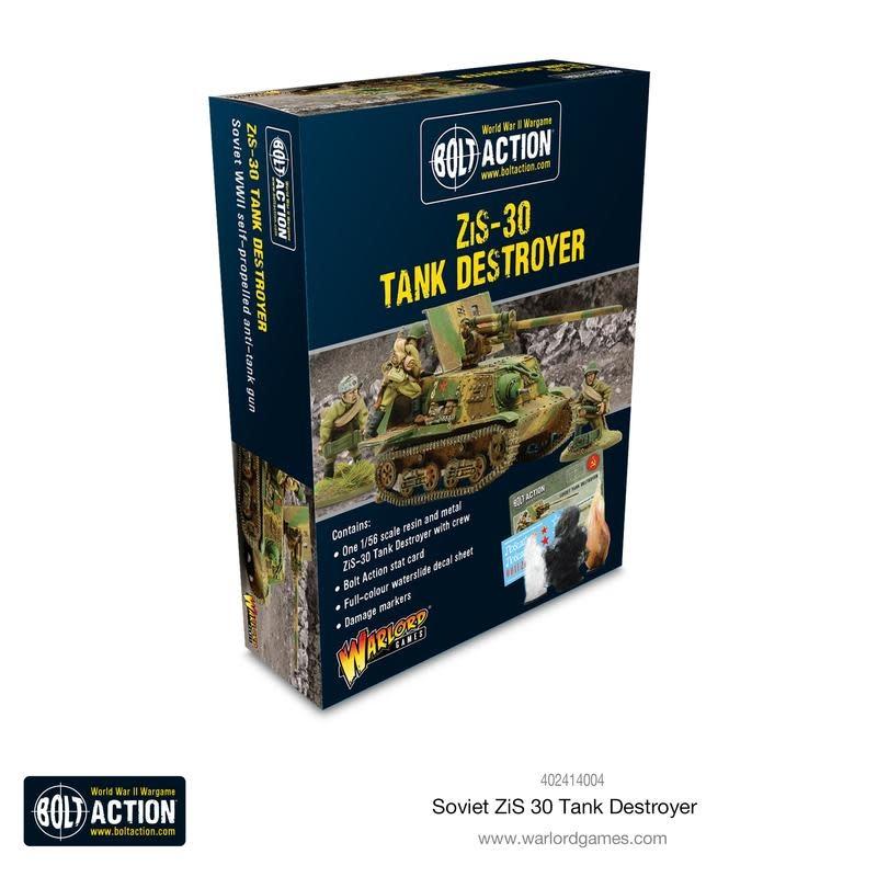 Warlord games Bolt Action: Soviet- ZiS-30 Tank Destroyer