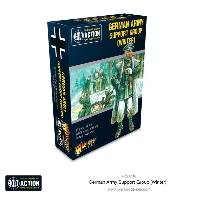 Warlord games Bolt Action: German- Army Support Group (Winter)
