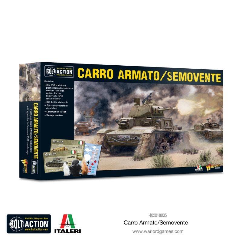 Warlord games Bolt Action: Italian- Carro Armato/Semovente