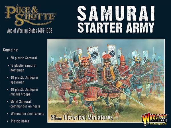 Warlord games Pike & Shotte: Samurai Starter Army