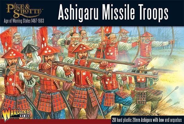 Warlord games Pike & Shotte: Ashigaru Missile Troops