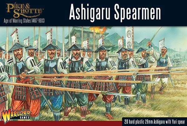 Warlord games Pike & Shotte: Ashigaru Spearmen