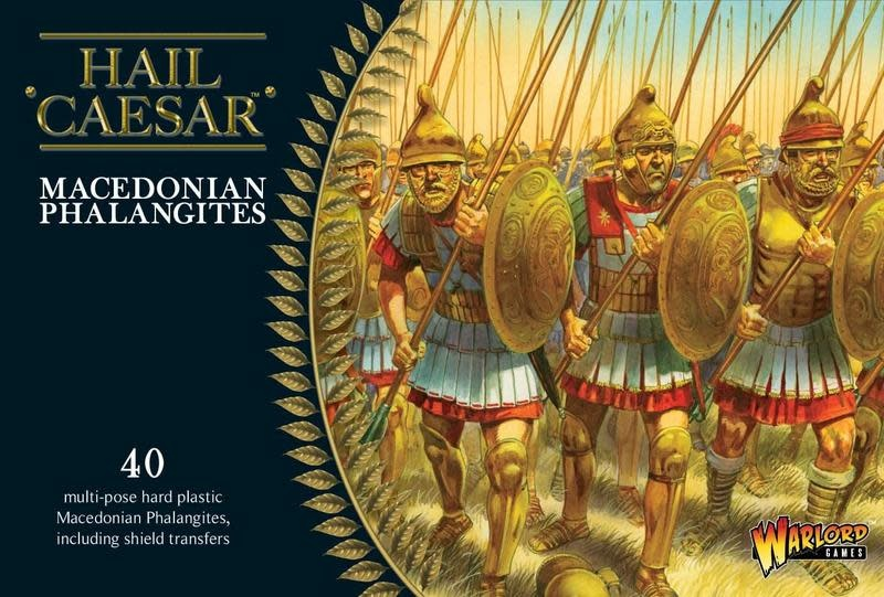 Warlord games Hail Caesar: Macedonian Phalangites