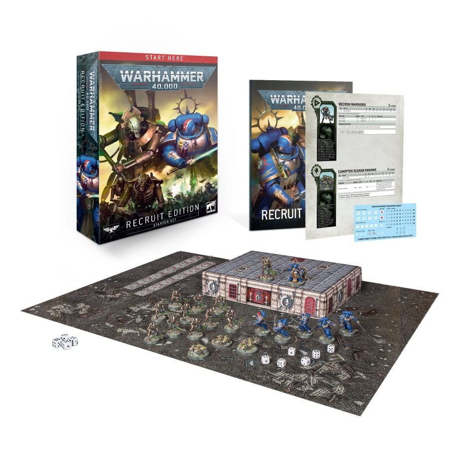 Games Workshop Warhammer 40K: Recruit Edition Starter Set
