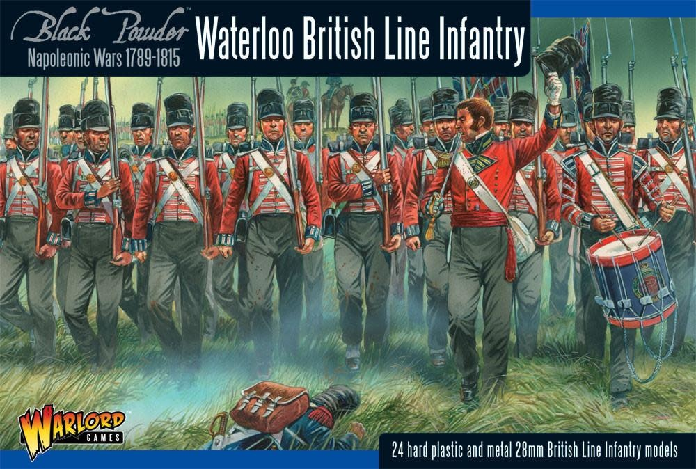 Warlord games Black Powder: Waterloo British Line Infantry (1789-1815)