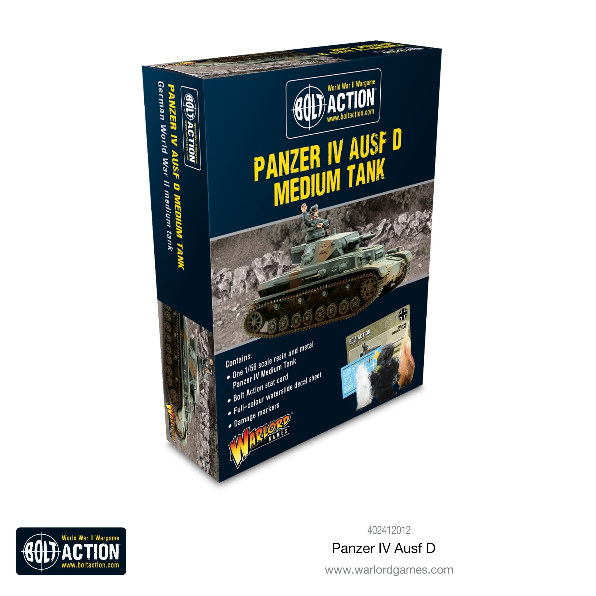 Warlord games Bolt Action: german- Panzer IV D Medium Tank