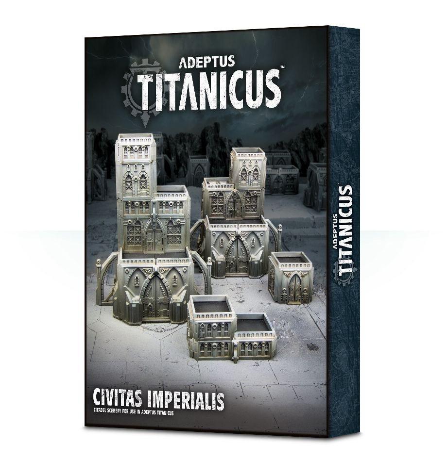 Games Workshop Warhammer Adeptus Titanicus Terrain: Civitas Imperialis
