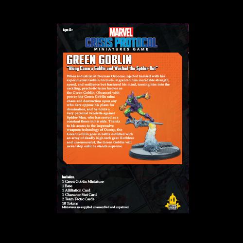 Atomic Mass Games Marvel Crisis Protocol: Green Goblin