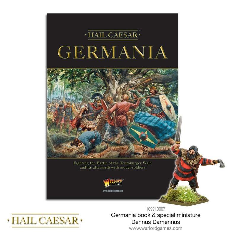 Warlord games Hail Caesar: Germania Book